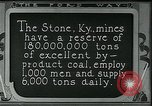 Image of Ford mines Stone Kentucky USA, 1924, second 1 stock footage video 65675035239
