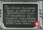 Image of Ford mines Stone Kentucky USA, 1924, second 2 stock footage video 65675035239