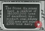 Image of Ford mines Stone Kentucky USA, 1924, second 3 stock footage video 65675035239