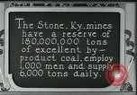 Image of Ford mines Stone Kentucky USA, 1924, second 4 stock footage video 65675035239