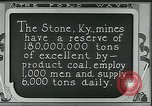 Image of Ford mines Stone Kentucky USA, 1924, second 6 stock footage video 65675035239