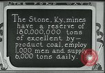Image of Ford mines Stone Kentucky USA, 1924, second 7 stock footage video 65675035239