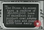 Image of Ford mines Stone Kentucky USA, 1924, second 8 stock footage video 65675035239