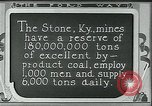 Image of Ford mines Stone Kentucky USA, 1924, second 9 stock footage video 65675035239
