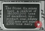 Image of Ford mines Stone Kentucky USA, 1924, second 10 stock footage video 65675035239