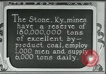 Image of Ford mines Stone Kentucky USA, 1924, second 11 stock footage video 65675035239