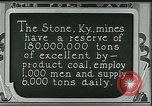 Image of Ford mines Stone Kentucky USA, 1924, second 12 stock footage video 65675035239