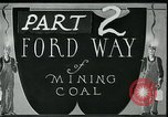 Image of Ford mines West Virginia USA, 1924, second 1 stock footage video 65675035241