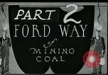 Image of Ford mines West Virginia USA, 1924, second 2 stock footage video 65675035241