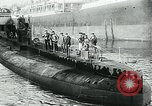 Image of German Submarine Deutschland New London Connecticut USA, 1916, second 5 stock footage video 65675035253