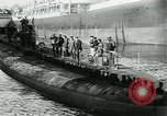 Image of German Submarine Deutschland New London Connecticut USA, 1916, second 6 stock footage video 65675035253