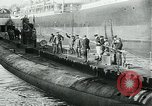 Image of German Submarine Deutschland New London Connecticut USA, 1916, second 9 stock footage video 65675035253