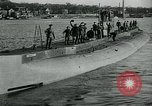 Image of German Submarine Deutschland New London Connecticut USA, 1916, second 12 stock footage video 65675035253