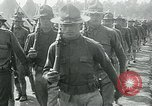 Image of President Woodrow Wilson reviews troops World War 1 United States USA, 1917, second 2 stock footage video 65675035259