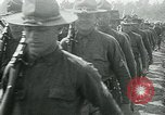 Image of President Woodrow Wilson reviews troops World War 1 United States USA, 1917, second 3 stock footage video 65675035259