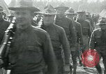 Image of President Woodrow Wilson reviews troops World War 1 United States USA, 1917, second 5 stock footage video 65675035259