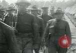 Image of President Woodrow Wilson reviews troops World War 1 United States USA, 1917, second 6 stock footage video 65675035259