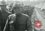 Image of President Woodrow Wilson reviews troops World War 1 United States USA, 1917, second 7 stock footage video 65675035259