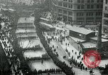 Image of troops march on the streets New York City USA, 1917, second 1 stock footage video 65675035260