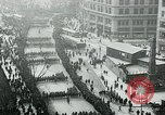 Image of troops march on the streets New York City USA, 1917, second 3 stock footage video 65675035260
