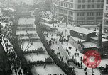 Image of troops march on the streets New York City USA, 1917, second 4 stock footage video 65675035260