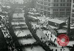 Image of troops march on the streets New York City USA, 1917, second 6 stock footage video 65675035260