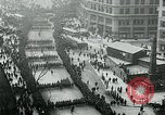 Image of troops march on the streets New York City USA, 1917, second 7 stock footage video 65675035260