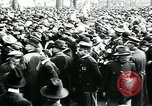 Image of troops march on the streets New York City USA, 1917, second 12 stock footage video 65675035260