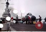 Image of USS Midway CVB 41 Atlantic Ocean, 1951, second 4 stock footage video 65675035269