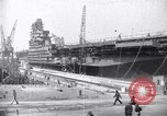 Image of USS Midway Newport News Virginia USA, 1945, second 1 stock footage video 65675035282