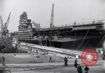 Image of USS Midway Newport News Virginia USA, 1945, second 2 stock footage video 65675035282