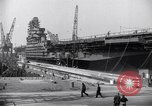 Image of USS Midway Newport News Virginia USA, 1945, second 3 stock footage video 65675035282