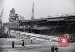 Image of USS Midway Newport News Virginia USA, 1945, second 7 stock footage video 65675035282