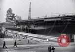Image of USS Midway Newport News Virginia USA, 1945, second 8 stock footage video 65675035282