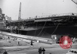 Image of USS Midway Newport News Virginia USA, 1945, second 12 stock footage video 65675035282