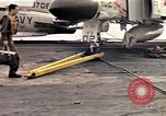 Image of USS Midway Vietnam, 1965, second 1 stock footage video 65675035287