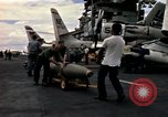 Image of USS Midway Vietnam, 1965, second 9 stock footage video 65675035288