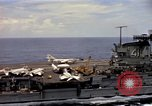Image of USS Midway South China Sea, 1965, second 10 stock footage video 65675035290