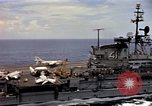 Image of USS Midway South China Sea, 1965, second 11 stock footage video 65675035290