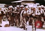 Image of United States Marines Eniwetok Atoll Marshall Islands, 1944, second 10 stock footage video 65675035292