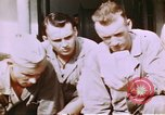 Image of US Marine officers Saipan Northern Mariana Islands, 1944, second 9 stock footage video 65675035294