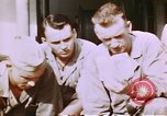 Image of US Marine officers Saipan Northern Mariana Islands, 1944, second 10 stock footage video 65675035294