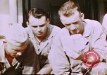 Image of US Marine officers Saipan Northern Mariana Islands, 1944, second 11 stock footage video 65675035294