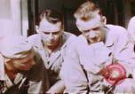 Image of US Marine officers Saipan Northern Mariana Islands, 1944, second 12 stock footage video 65675035294