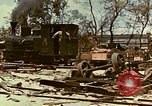 Image of locomotive Saipan Northern Mariana Islands, 1944, second 5 stock footage video 65675035338