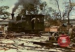 Image of locomotive Saipan Northern Mariana Islands, 1944, second 6 stock footage video 65675035338