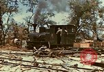 Image of locomotive Saipan Northern Mariana Islands, 1944, second 9 stock footage video 65675035338