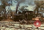 Image of locomotive Saipan Northern Mariana Islands, 1944, second 10 stock footage video 65675035338