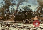 Image of locomotive Saipan Northern Mariana Islands, 1944, second 11 stock footage video 65675035338