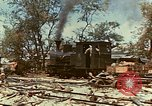 Image of locomotive Saipan Northern Mariana Islands, 1944, second 12 stock footage video 65675035338